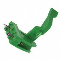 Amphenol FCI - 10042618-001LF - CONN ACCY CARD RETENTION GREEN