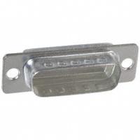 Amphenol FCI - 86553114TLF - CONN DSUB 15POS PIN METAL CAP