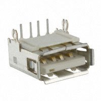 Amphenol FCI - 87520-0010BLF - CONN RCPT USB TYPE A R/A PCB
