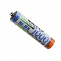FDK America, Inc., a member of Fujitsu Group - HR-4U-1000T - BATTERY NIMH 1.2V 930MAH AAA
