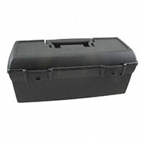"Flambeau Inc. - 13805-2 - BOX PLASTIC BLACK 13""L X 6""W"