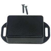 """Hammond Manufacturing - 1551GFLBK - BOX ABS BLACK 1.97""""L X 1.38""""W"""