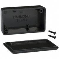 "Hammond Manufacturing - 1551HBK - BOX ABS BLACK 2.36""L X 1.38""W"