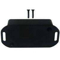 "Hammond Manufacturing - 1551HFLBK - BOX ABS BLACK 2.36""L X 1.38""W"