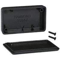 """Hammond Manufacturing - 1551JBK - BOX ABS BLACK 2.36""""L X 1.38""""W"""