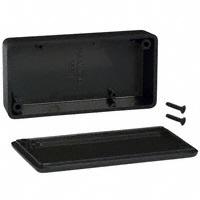 """Hammond Manufacturing - 1551KBK - BOX ABS BLACK 3.15""""L X 1.58""""W"""