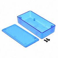 """Hammond Manufacturing - 1551KTBU - BOX ABS TRN BLUE 3.15""""L X 1.58""""W"""