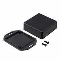 """Hammond Manufacturing - 1551RFLBK - BOX ABS BLACK 1.97""""L X 1.97""""W"""