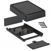 """Hammond Manufacturing - 1593PBK - BOX ABS BLACK 3.62""""L X 2.62""""W"""