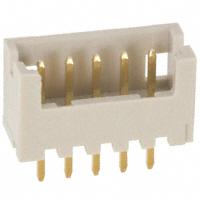 Hirose Electric Co Ltd - DF13-5P-1.25DSA(50) - CONN HEADER 5POS 1.25MM GOLD