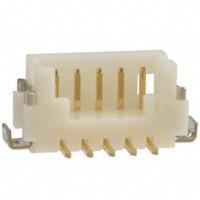 Hirose Electric Co Ltd - DF13-5P-1.25V(50) - CONN HEADER 5POS 1.25MM SMD GOLD