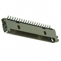 Hirose Electric Co Ltd - DF19G-20P-1H(54) - CONN HEADER 20POS 1MM R/A SMD AU