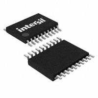 Intersil - ISL22346WFV20Z - IC POT DGTL 128TP LN LP 20-TSSOP