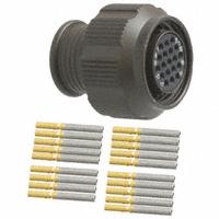 ITT Cannon, LLC - MKJ1A6W9-19SA - CONN PLUG 19POS STRGHT W/SKTS