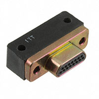 ITT Cannon, LLC - MDM-15PCBR-F222 - CONN MICRO-D PLUG 15POS R/A SLDR