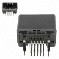 JAE Electronics - MX34014NFA - CONN HEADER 14POS R/A 2.2MM TIN