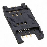 JAE Electronics - SF7W006S1BE1000 - CONN SIM CARD HINGED TYPE R/A