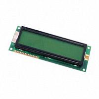 Kyocera International, Inc. - DMC-16230NY-LY-EDE-EFN - LCD MOD 16X2 CHARAC TRANS W/LED