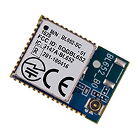 Laird - Embedded Wireless Solutions - BL652-SC-01-T/R - RF TXRX MOD BLUETOOTH I-PEX ANT