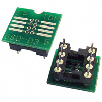 Logical Systems Inc. - PA-SOD3SM18-08 - SOCKET ADAPTER SOIC TO 8DIP