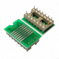 Logical Systems Inc. - PA-SOD3SM18-14 - SOCKET ADAPTER SOIC TO 14DIP