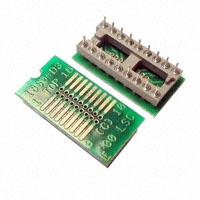 Logical Systems Inc. - PA-SOD3SM18-18 - SOCKET ADAPTER SOIC TO 18DIP