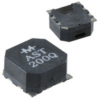 Mallory Sonalert Products Inc. - AST200Q - AUDIO MAGNETIC XDCR 2-4V SMD