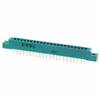 EDAC Inc. - 307-022-525-102 - CONN EDGE SGL FEMALE 22POS 0.156