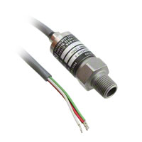 TE Connectivity Measurement Specialties - M3421-000006-300PG - SENSOR 300PSIG 1/8NPT 100MV 2'