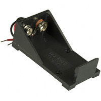 MPD (Memory Protection Devices) - BH9VW - HOLDER BATTERY 9V WIRE LEADS