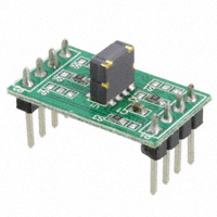 Memsic Inc. - MXR7250VW-B - BOARD EVAL FOR MXR7250VW