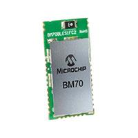 Microchip Technology - BM70BLES1FC2-0002AA - RF TXRX MOD BLUETOOTH CHIP ANT