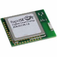 MMB Networks - Z357PA10-SMT-P-PC - RF TXRX MODULE 802.15.4 CHIP ANT