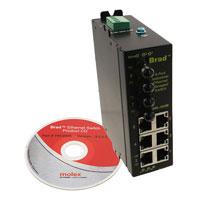 Molex Connector Corporation - 1120360052 - CONN RCPT MG HD 6 PORTS RJ45 2FX