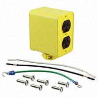 Molex Connector Corporation - 1301370088 - OUTLET BOX 2-DUPLEX 5-15 PORTBLE