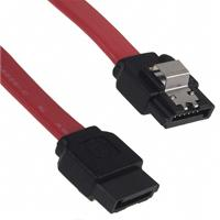 Molex, LLC - 0685610014 - CABLE SERIAL ATA .5M LATCH 7POS