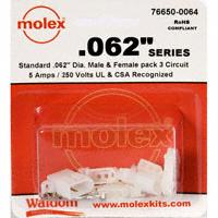 "Molex Connector Corporation - 76650-0064 - KIT CONN STD .062"" 3 CIRCUITS"
