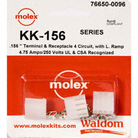 Molex Connector Corporation - 76650-0096 - KIT .156 KK SERIES 4 CIRC RAMP
