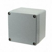 """Molex, LLC - 0936040103 - BOX ALUM GRAY 3.94""""L X 3.94""""W"""