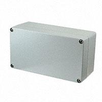 """Molex, LLC - 0936040109 - BOX ALUM GRAY 8.66""""L X 4.72""""W"""