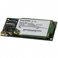 Multi-Tech Systems Inc. - MTSMC-G-F2.R1.1 - RF TXRX MODULE CELLULAR MMCX ANT