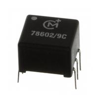Murata Power Solutions Inc. - 78602/9C - TRANSFORMER 1:1:1 10MH 56VUS