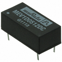 Murata Power Solutions Inc. - MEV1D0512DC - DC/DC 3KVDC DIP 1W 5V TO +/-12V