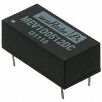 Murata Power Solutions Inc. - MEV1D0512DC - DC/DC 3KVDC DIP 1W 5V TO +/-12V