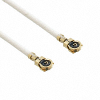 Murata Electronics North America - MXJA01JA1000 - COAX CONN WITH CABLE 100MM