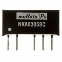 Murata Power Solutions Inc. - NKA0305SC - CONV DC/DC 1W 3.3VIN 5V SIP DL