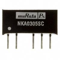 Murata Power Solutions Inc. - NKA0305SC - CONV DC/DC 1W 3.3VIN 5V SIP DL