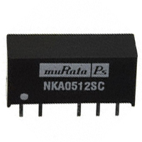 Murata Power Solutions Inc. - NKA0512SC - CONV DC/DC 1W 5VIN 12VOUT SIP DL