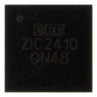 CEL - ZIC2410QN48 - IC RF TXRX+MCU 802.15.4 48-VFQFN