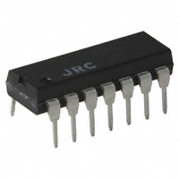 NJR Corporation/NJRC - NJM064D# - IC OPAMP JFET 1MHZ 14DIP